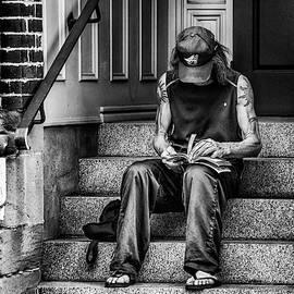 Alone On A Doorstep by Ken Morris