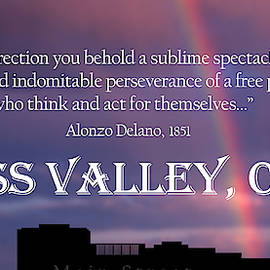 Alonzo Delano Grass Valley Quote by Lisa Redfern