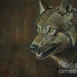 Alpha Male ......The Gray Wolf by Bob Williams