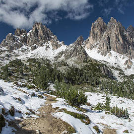 Alpine Hiking Trail by Eva Lechner