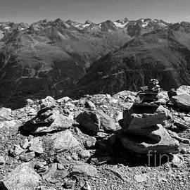 Alpine Rocks On Top by Bumsable