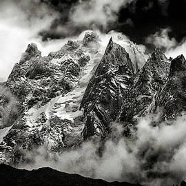Alps At Chamonix by Robert Woodward