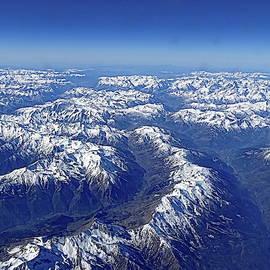 Alps from Above by Lyuba Filatova