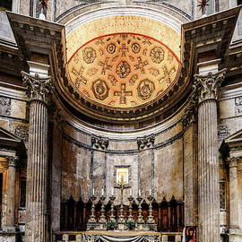 Altar of the Pantheon in Rome by Alexey Stiop