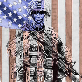 American Soldier by Bill Richards