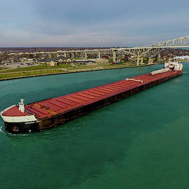 American Spirit Downbound at Port Huron by Gales Of November