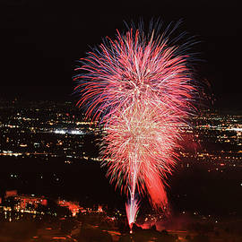 America's Birthday Celebrated In World-famous Broadmoor Hotel, Colorado Springs by Bijan Pirnia