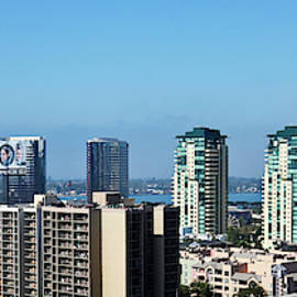 An Aerial View of Downtown San Diego, CA, USA  by Derrick Neill