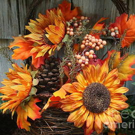 An Autumn Bouquet - Still LIfe by Dora Sofia Caputo