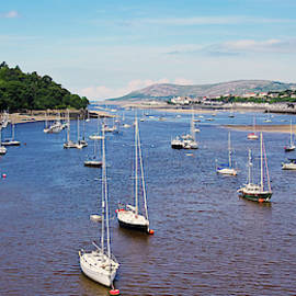 A Conwy Marina Shot, Wales, GB, UK by Derrick Neill