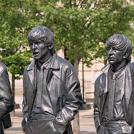 An Iconic Beatles Statue by Andrew Edwards, Liverpool, England,  by Derrick Neill