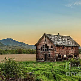 An Old Homestead by Robert Bales