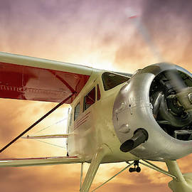 An Old Waco EQC-6 by Philip Rispin