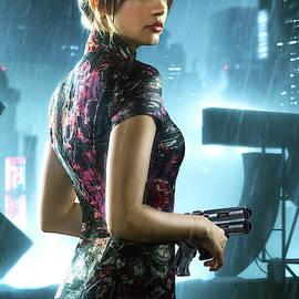 Ana de Armas, Blade Runner 2049, Dangerous by Thomas Pollart