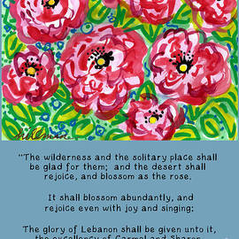 And Blossom as the Rose by A Hillman