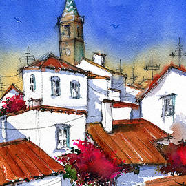 Andalusian Village in Spain by Dora Hathazi Mendes