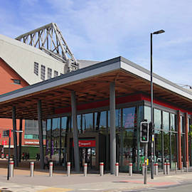 Anfield Football Stadium, Liverpool, Merseyside, England, GB, UK by Derrick Neill