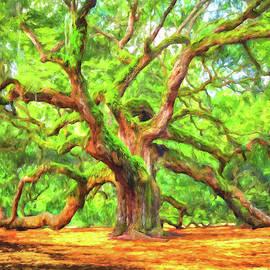 Enduring Angel Oak - South Carolina Landscape by Mark Tisdale