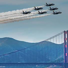 Angels over Golden Gate by Tran Boelsterli