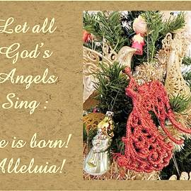 Angels Sing Alleluia by Marian Bell