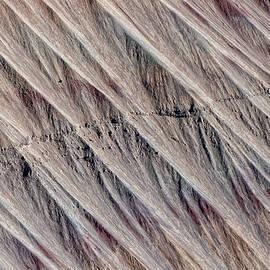 Angled Desert Strata by Britt Runyon