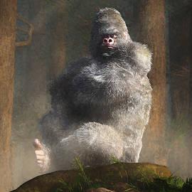 Angry White Ape by Daniel Eskridge