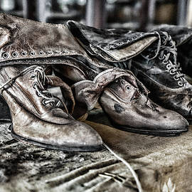 Antique Boots by Sharon Popek