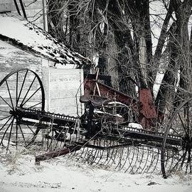 Antique in Snow by Curtis Tilleraas