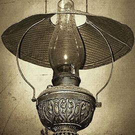 Antique Oil Lantern by Kaye Menner