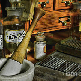 Apothecary-Vintage Pill Roller by Paul Ward