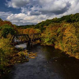 Appalachian Autumn by Norma Brandsberg