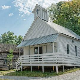Appalachian Church by Sharon Popek