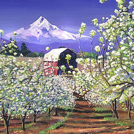 Apple Blossom Time by David Lloyd Glover