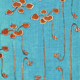 Aquatic Plants - Japanese traditional pattern design