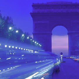 Arc De Triomphe In Place De Letoile See by Alfred Eisenstaedt