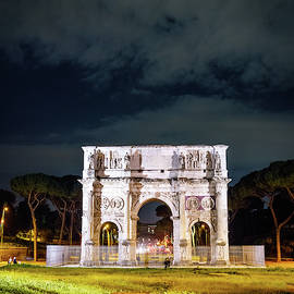 Arch of Constantine in Rome by Alexey Stiop
