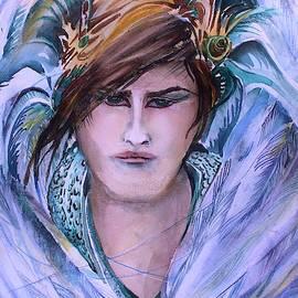 Archangel Raphael by Mindy Newman