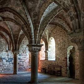 Gert J Rheeders - Arched Room In A Medieval Castle L A S