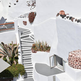 Architecture in Santorini by PrintsProject