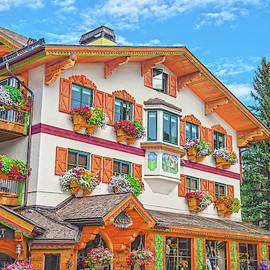 Architrave, Frieze, Entablature, Cornice, All In Vail Village And Ski Resort, Colorado by Bijan Pirnia