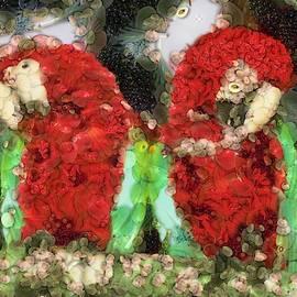 Arcimboldo's Parrots by Mario Carini