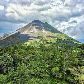 Arenal Volcano Costa Rica Clear View by Marlin and Laura Hum