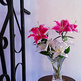 Aromatic Lilies by Elly Potamianos