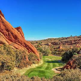 Arrowhead Golf Hole 13 by Lorraine Baum
