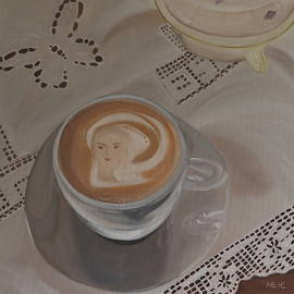 Ildiko Mecseri - Art coffee