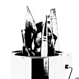 Artists'  Tools -  B -  W by VIVA Anderson