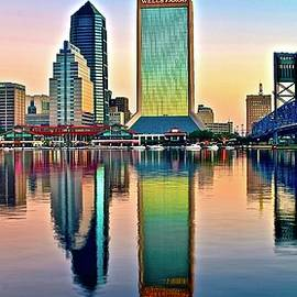 As Day Breaks in Jacksonville by Frozen in Time Fine Art Photography