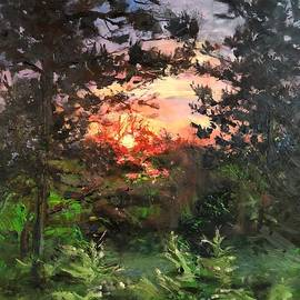 As the Sun Sets Bittersweet by Lori Pittenger