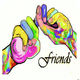 ASL Friend Bright Colors by Eloise Schneider Mote