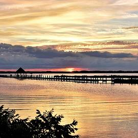 Assawoman Sunset by Kim Bemis